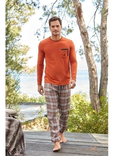 Nautica Pijama Takım Kiremit